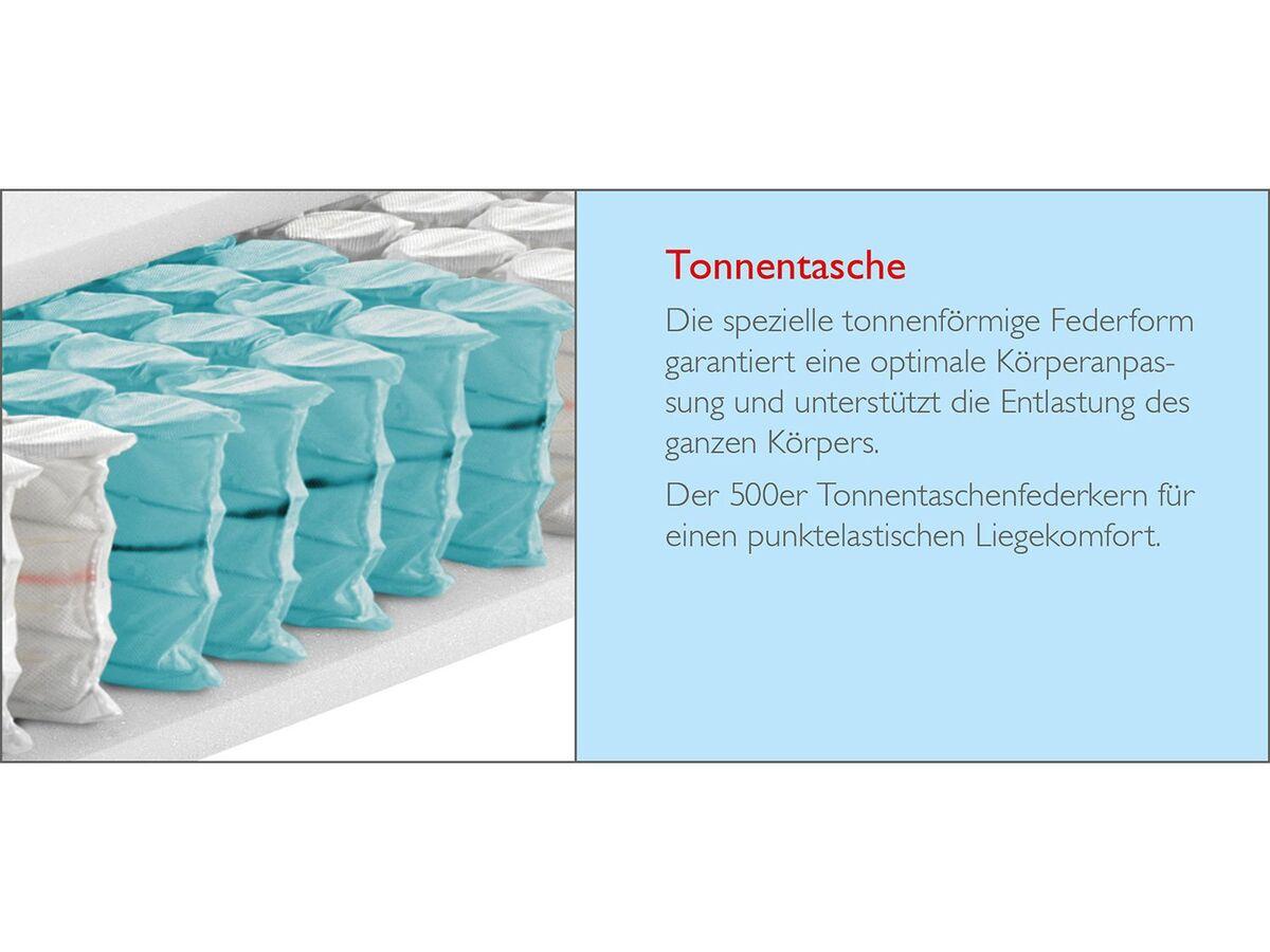 Bild 4 von BADENIA TRENDLINE 7-Zonen-Tonnentaschenfederkernmatratze BT 299