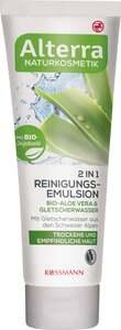 Alterra 2in1 Reinigungsemulsion Bio-Aloe Vera & Glets 1.56 EUR/ 100 ml