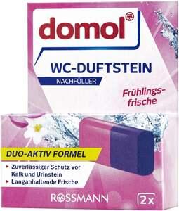 domol WC-Duftsteine Duo Frühlingsfrische