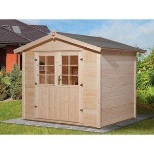 Weka Holz-Gartenhaus Ravenna A 240 cm x 205 cm
