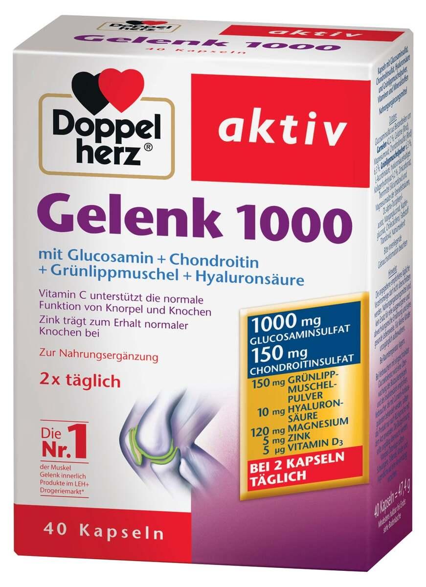 Bild 3 von Doppelherz Gelenk 1000 Kapseln 12.64 EUR/ 100 g
