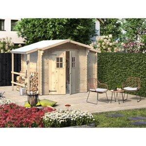 Weka Holz-Gartenhaus Bologna Natur 340 cm x 200 cm