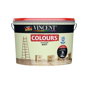 Vincent  Wand-/Deckencol zartgrün 5 L