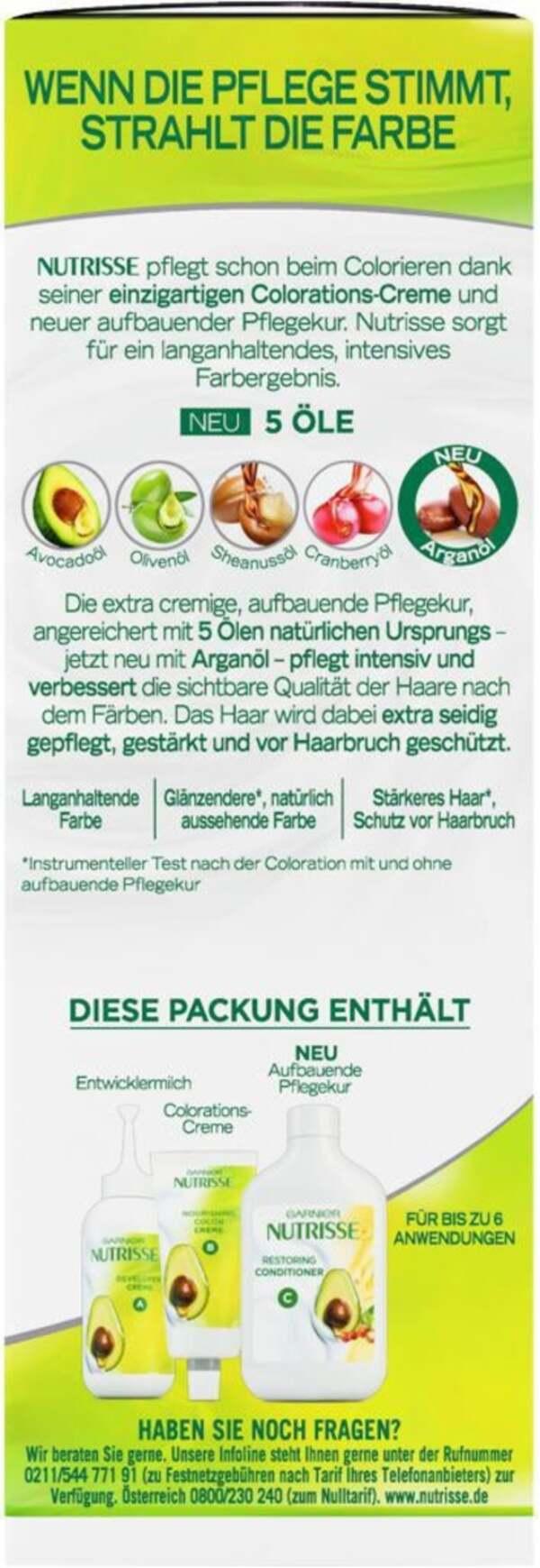 Garnier Nutrisse              Pflegende Intensiv-Coloration Creme