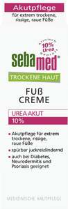 Sebamed              Trockene Haut Fußcreme Urea Akut 10%
