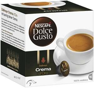 "Nescafé Dolce Gusto              Kapseln ""Dallmayr Crema d`Orro"""