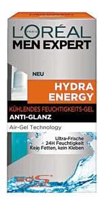 L'Oréal Paris men expert              Hydra Energy Kühlendes Feuchtigkeits-Gel Anti-Glanz