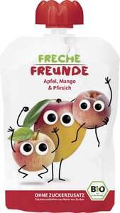 erdbär              Bio Freche Freunde 100% Apfel, Mango & Pfirsich