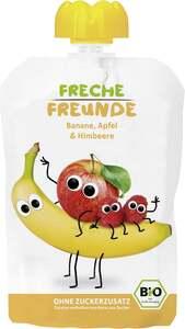 erdbär              Bio Freche Freunde 100% Apfel, Banane & Himbeere