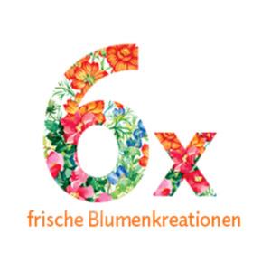 """Blumenstrauss-Abonnement """"6"""""""