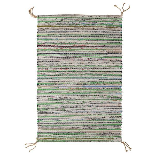 TÅNUM   Teppich flach gewebt
