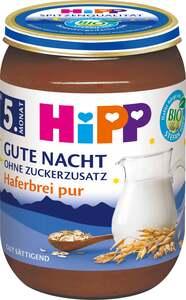 """HiPP              Bio Gute Nacht """"Haferbrei pur"""""""