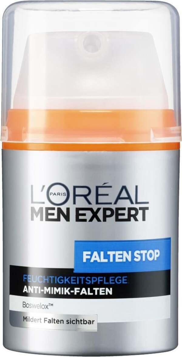 L'Oréal Paris men expert              Falten Stop Feuchtigkeitspflege Anti-Mimik-Falten