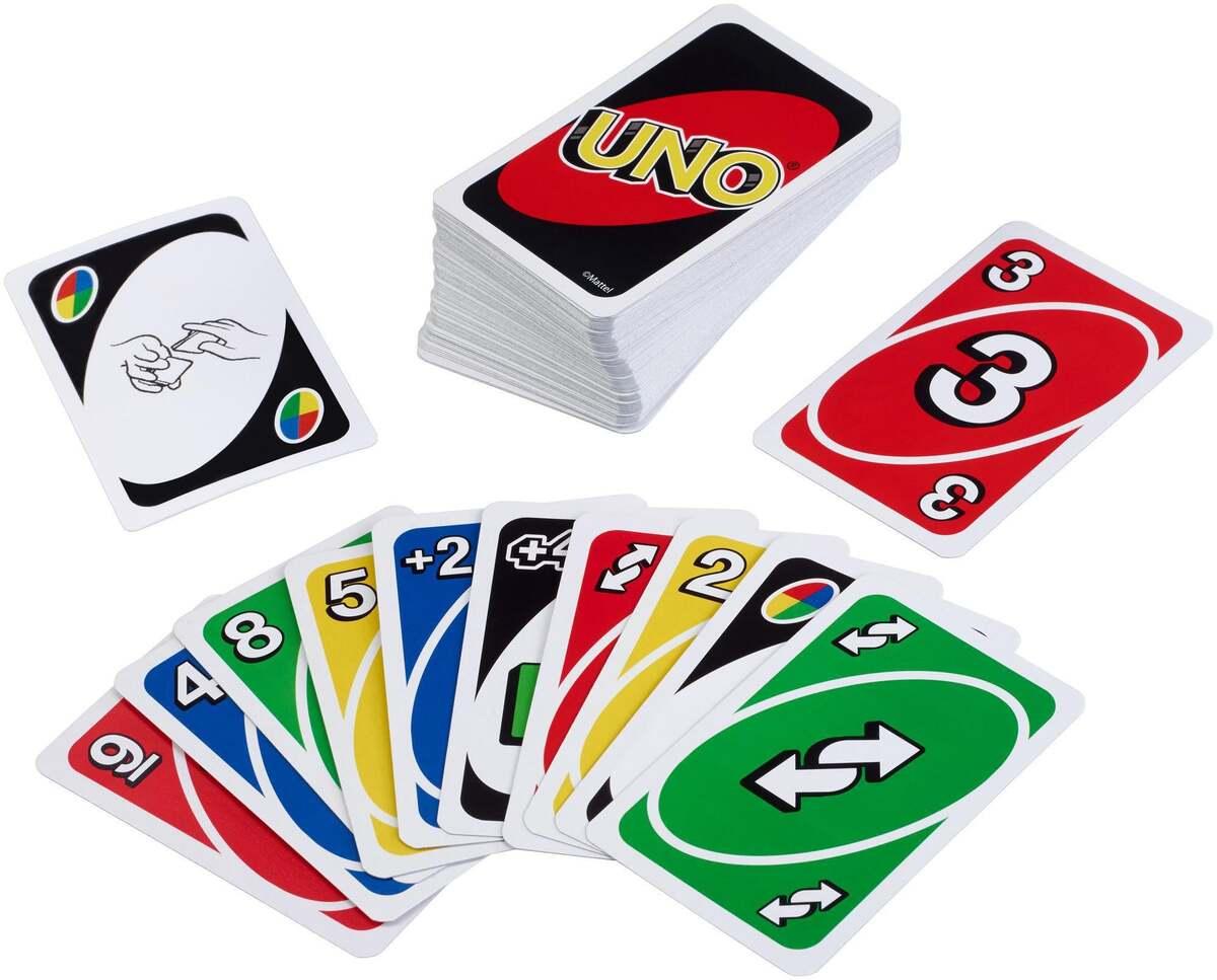 Bild 3 von UNO             Kartenspiel