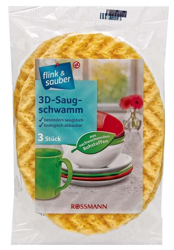 flink & sauber              Saugschwamm