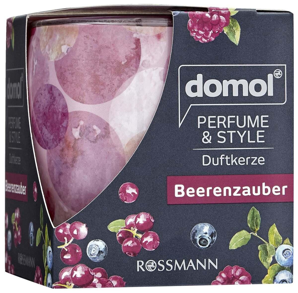 "Bild 1 von domol              Duftkerze Perfume & Style ""Beerenzauber"""