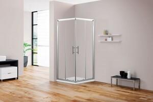 TrendLine Runddusche Easy 6  90 x 90 cm, Glasfarbe Klar