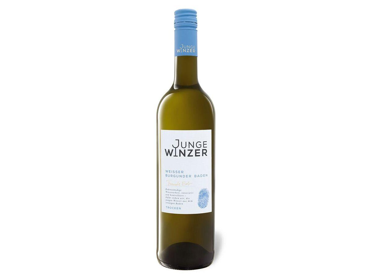 Bild 1 von Junge Winzer Weißer Burgunder QbA, Weißwein 2014