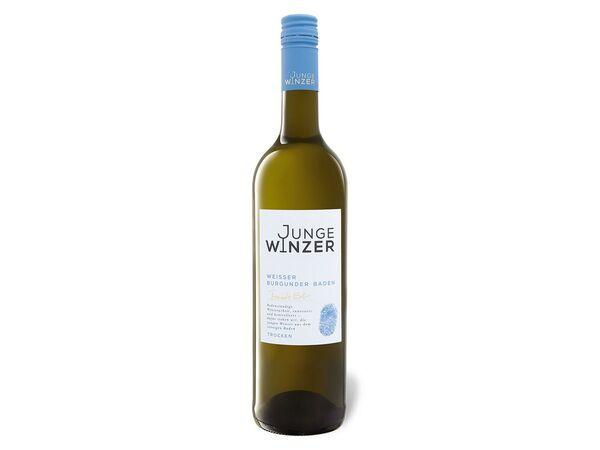 Junge Winzer Weißer Burgunder QbA, Weißwein 2014
