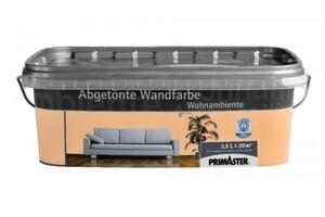 Primaster Wandfarbe Wohnambiente terracotta, 2,5 l