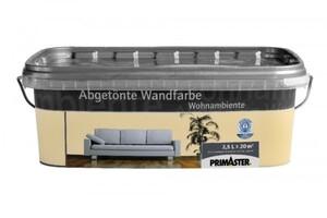 Primaster Wandfarbe Wohnambiente vanille, 2,5 l