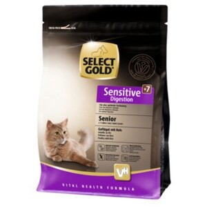 SELECT GOLD Sensitive Senior Digestion Geflügel & Reis