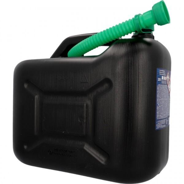 Unitec Benzinkanister  20 l Kunststoff schwarz