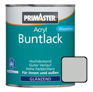 Primaster Acryl Buntlack lichtgrau glänzend, 750 ml