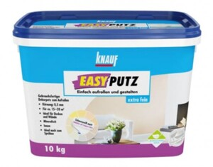 Knauf EasyPutz  extra fein 0,5 mm 10 kg schneeweiss matt