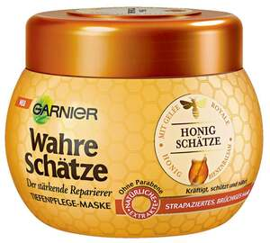 Garnier wahre Schätze              Tiefenpflege-Maske Honig Geheimnisse