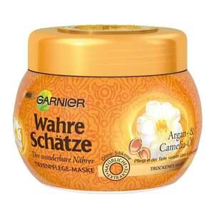 Garnier wahre Schätze              Tiefenpflege-Maske Argan- & Camelia-Öl