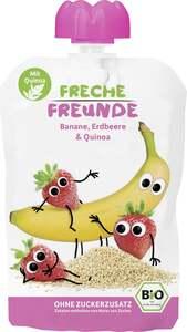 erdbär              Bio Freche Freunde Banane, Erdbeere & Quinoa