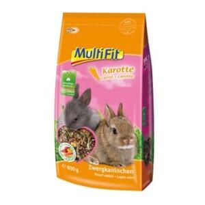 MultiFit für Zwergkaninchen mit Karotte