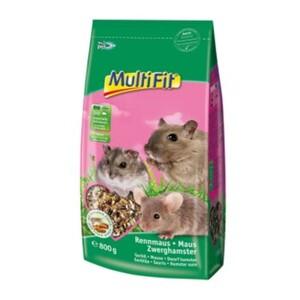 MultiFit Nagerfutter für Maus, Rennmaus und Zwerghamster