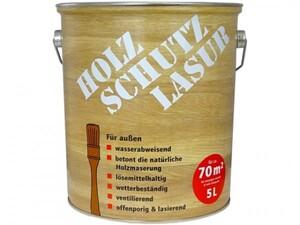 Holzschutzlasur  kiefer seidenglänzend, 5 l