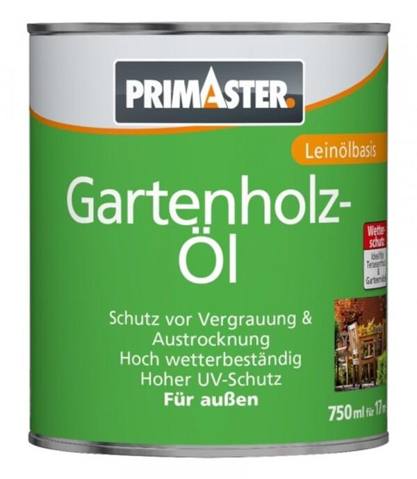 Primaster Gartenholzöl  teak, 750 ml