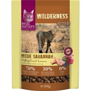 REAL NATURE WILDERNESS Adult Wide Savannah Geflügel mit Lamm
