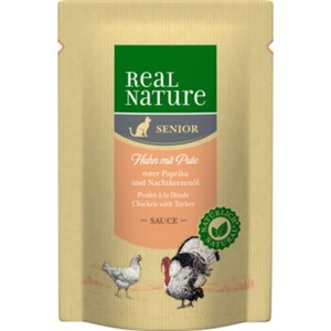 REAL NATURE Pouch Senior 12x85g