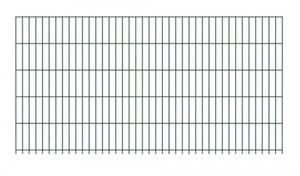 GAH-Alberts Doppelstab-Gittermatte  1000 x 2000 mm, verzinkt, grün kunststoffbeschichtet RAL 6005