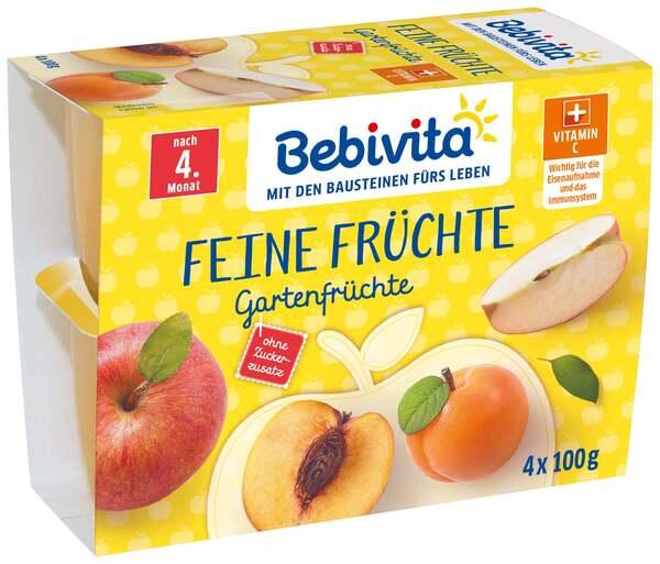 Bebivita              Feine Früchte: Gartenfrüchte