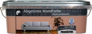 Primaster Wandfarbe Wohnambiente  havanna, 2,5 l