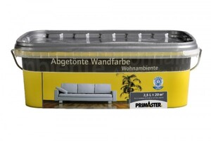 Primaster Wandfarbe Wohnambiente  curry, 2,5 l