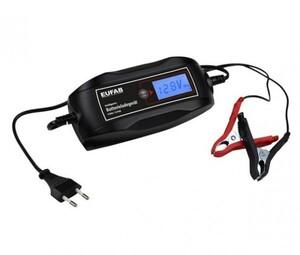 Eufab intelligentes Batterieladegerät 6 V / 12 V, 4 A