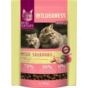 REAL NATURE WILDERNESS Wide Savannah Kitten Geflügel, Lamm & Wildschwein