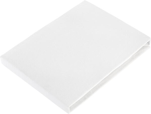 Spannbetttuch Basic in Silber, ca. 100x200cm
