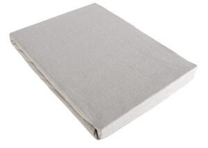 Spannbetttuch Basic in Grau, ca. 100x200cm