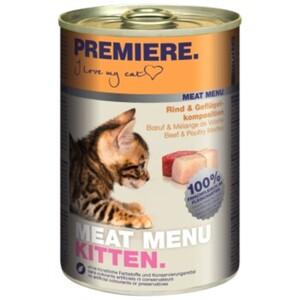 PREMIERE Meat Menu Kitten 6x400g