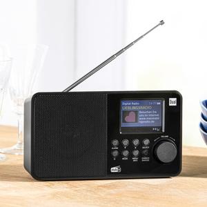 DUAL Portables DAB+/ UKW-Radio DAB 18C