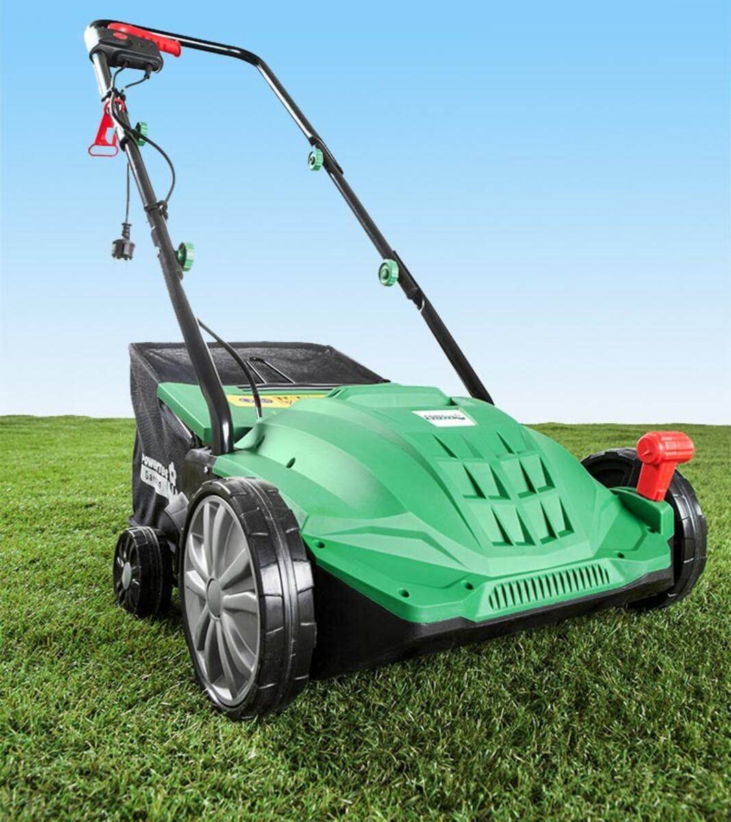 Bild 2 von Powertec Garden Elektro- Vertikutierer und -Rasenlüfter 2in1 WR6001-1500