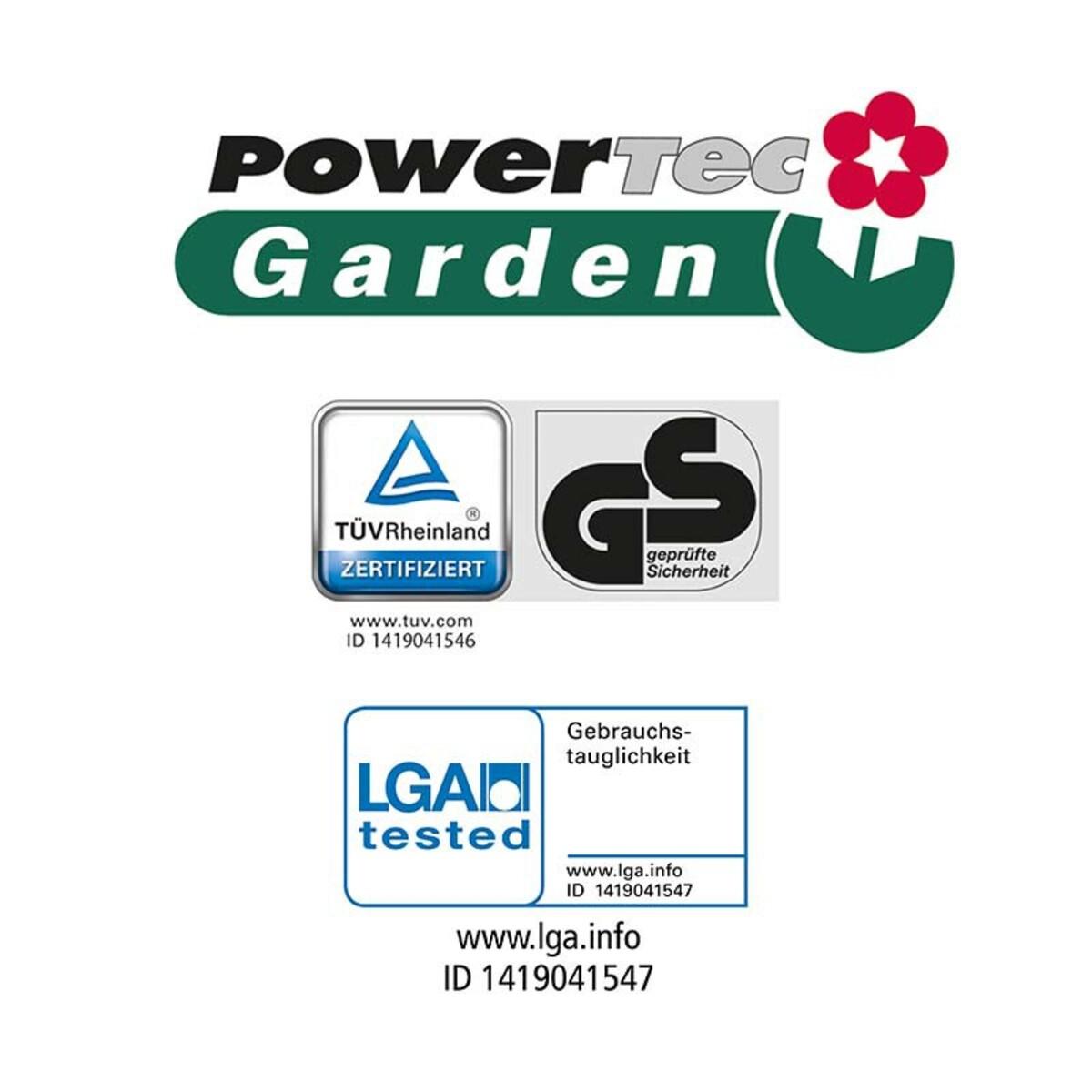 Bild 4 von Powertec Garden Elektro- Vertikutierer und -Rasenlüfter 2in1 WR6001-1500